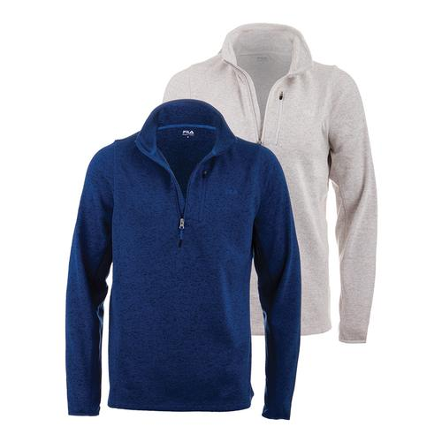 Men's Swether Half Zip Top