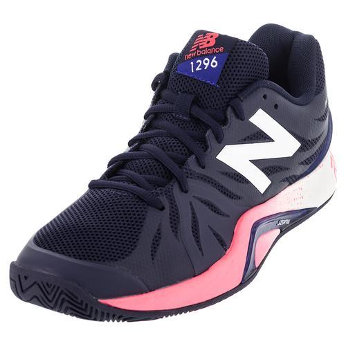 Men's 1296v2 D Width Tennis Shoes Uv Blue And Bright Cherry
