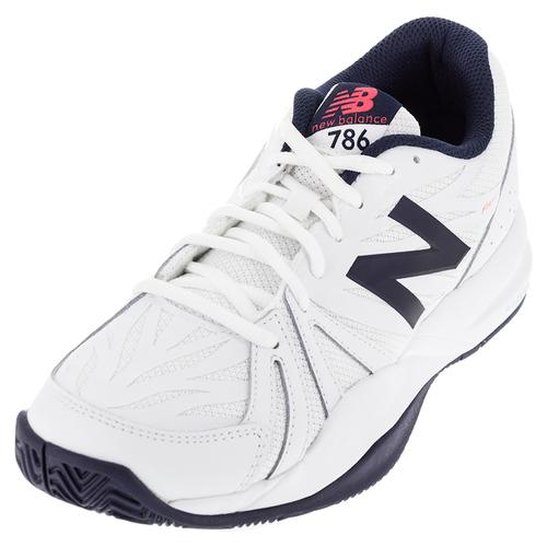 Men's 786v2 D Width Tennis Shoes White And Pigment