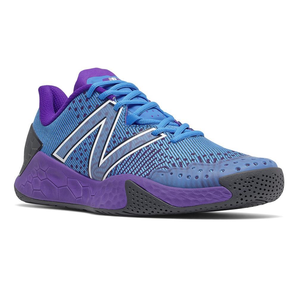 Men's Fresh Foam Lav V2 D Width Tennis Shoes Helium And Deep Violet