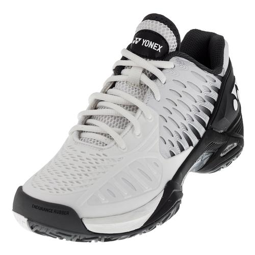 Men's Power Cushion Eclipsion Tennis Shoes White And Black