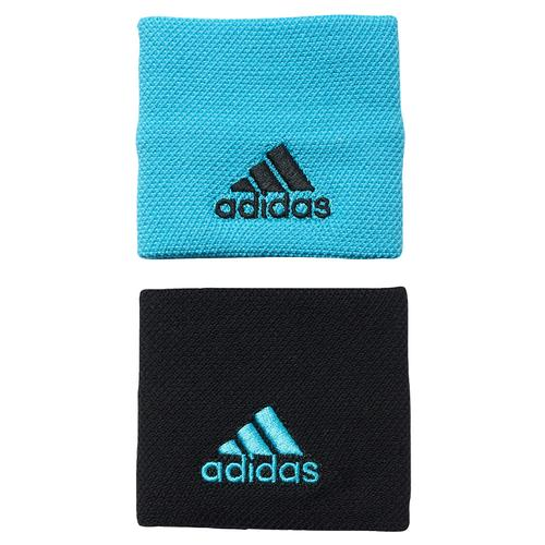 Small Tennis Wristband Samba Blue And Black