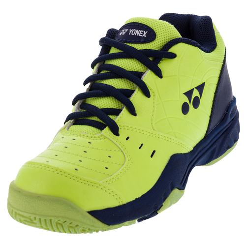 Juniors ` Power Cushion Eclipsion Tennis Shoes Yellow And Navy