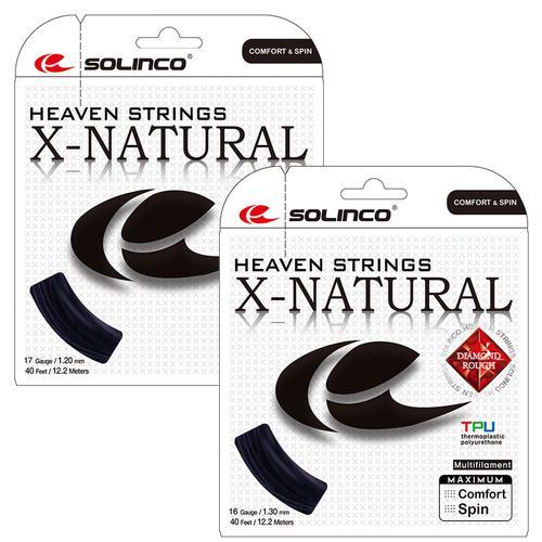 X- Natural Tennis String Black