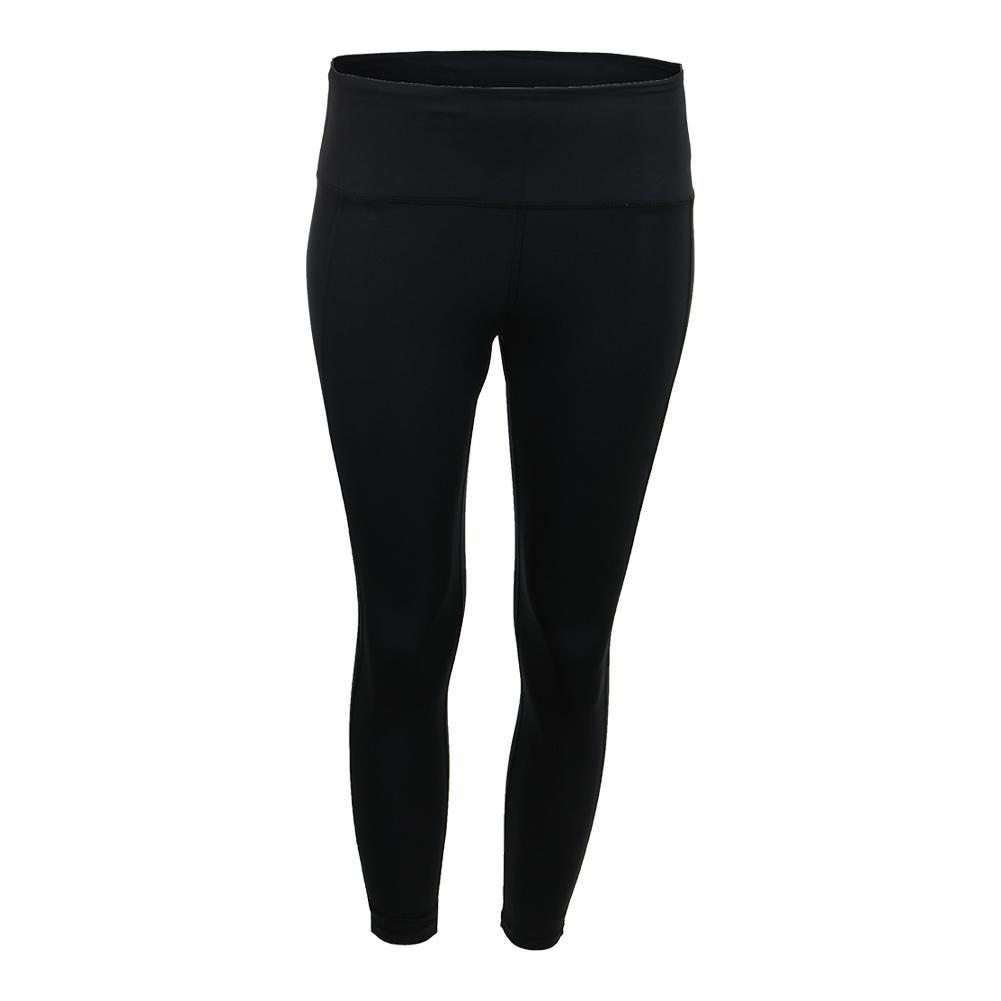 Women's Court Crop Tennis Pant Black