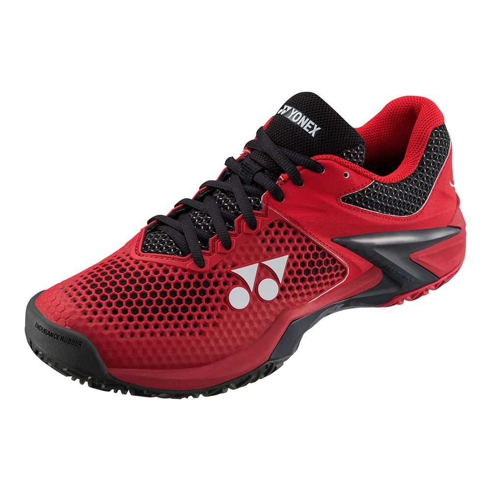 Men's Power Cushion Eclipsion 2 Tennis Shoes Red And Black
