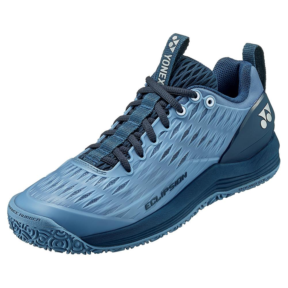 Men's Power Cushion Eclipsion 3 Clay Tennis Shoes Mist Blue