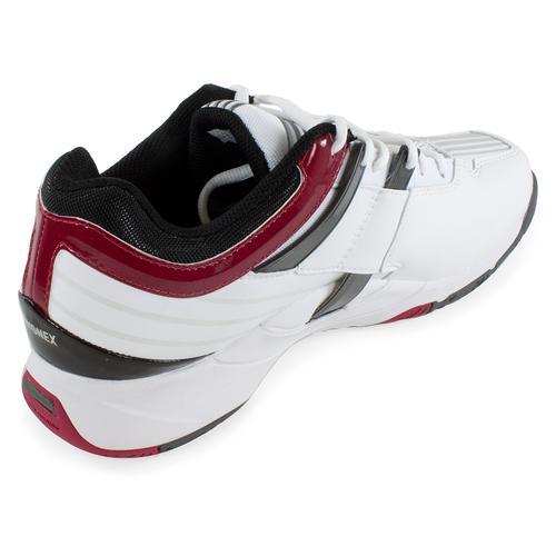 Yonex Unisex Power Cushion Light Tennis Shoes White Wine Red