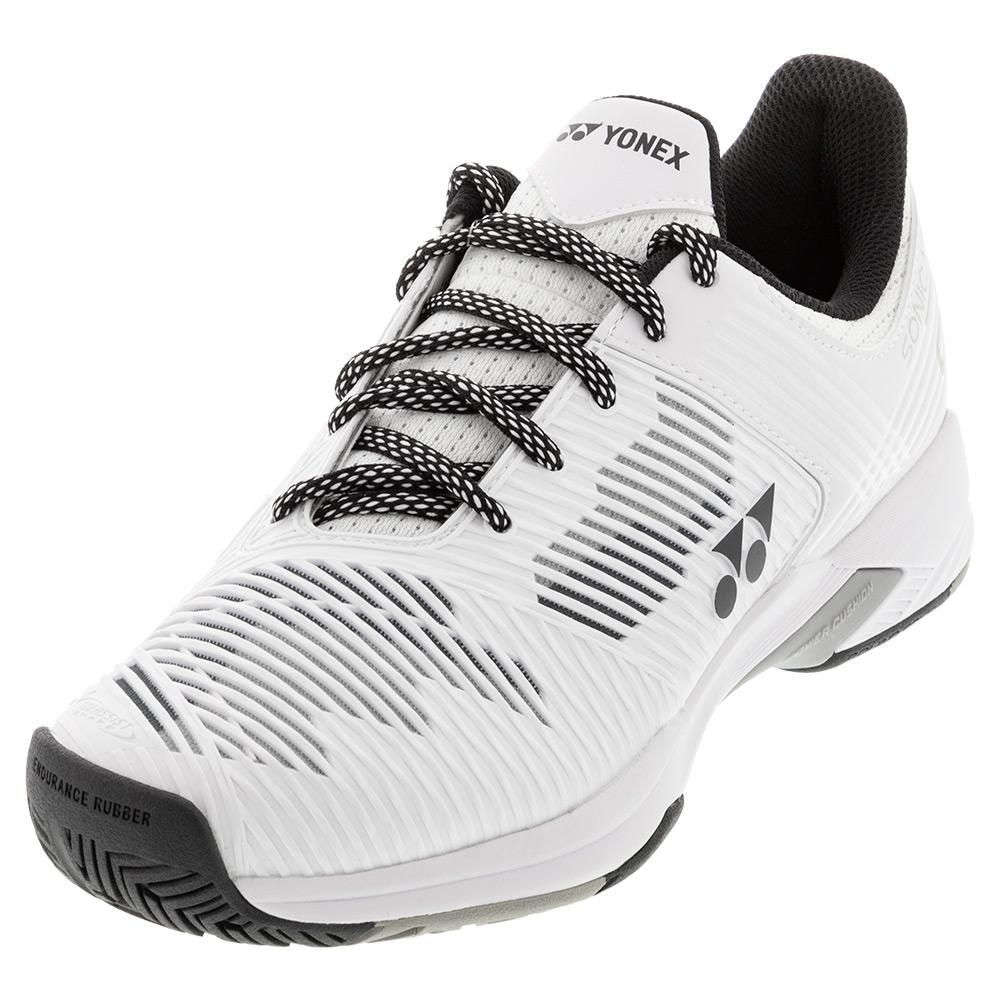 Unisex Sonicage 2 Wide Tennis Shoes White