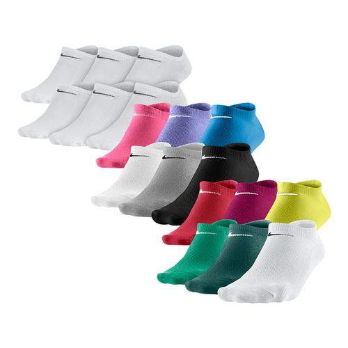 Women's Lightweight No Show Socks Medium 6 Pack