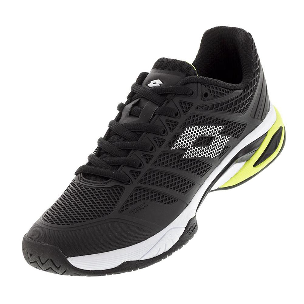 Men's Viper Ultra Iv Speed Tennis Shoes Black And White