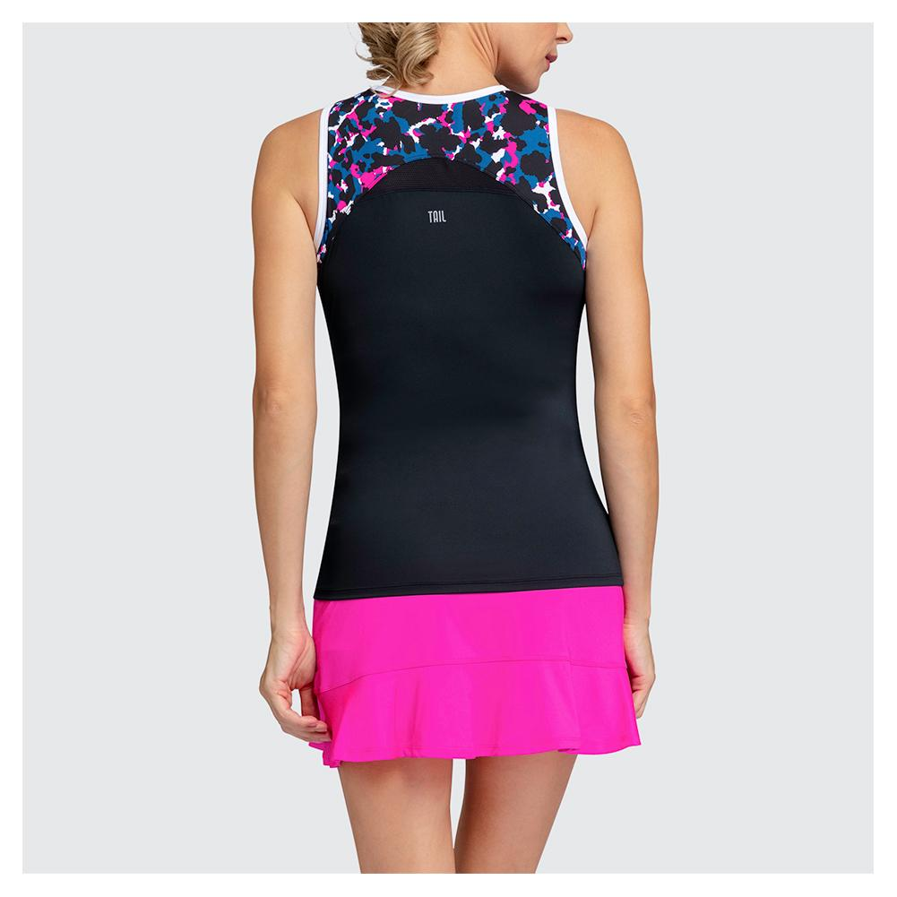 40cbe0df29931 Description; Customer Reviews; Tennis Express Reviews; Sizing. Description.  The Tail Women's Ireland Tennis Tank in Black ...