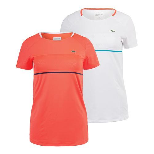 Women's Short Sleeve Tech Tennis Tee