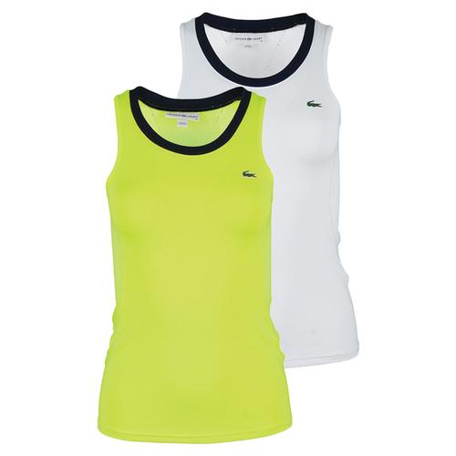 Women's Technical Sleeveless Mesh Back Tennis Top