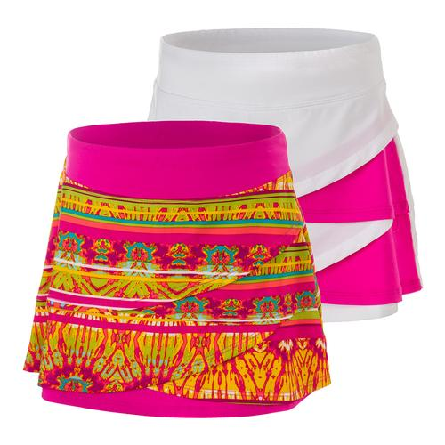 Girls ` Paint The Lines Tennis Skort