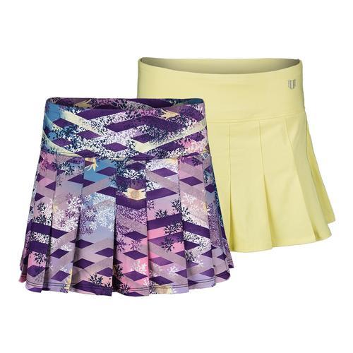 Women's 13 Inch Flutter Tennis Skirt