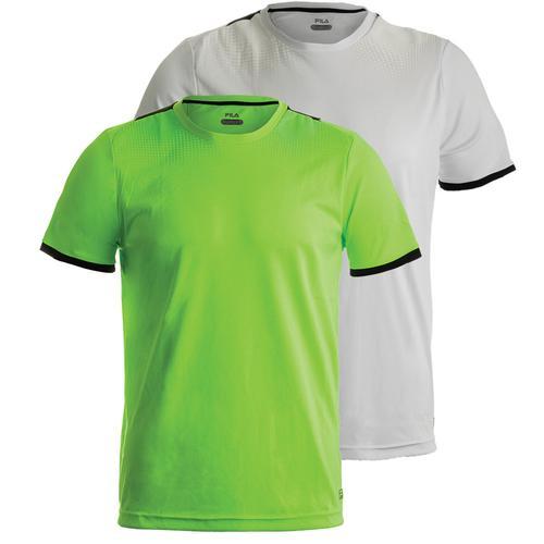 Men's Alpha Printed Tennis Crew