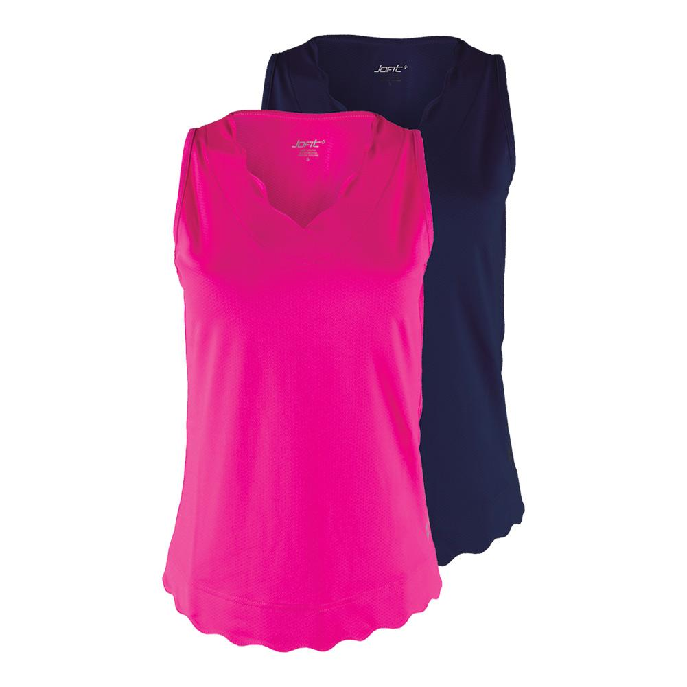 Women's Scallop Tennis Tank