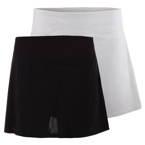 Women's Platinum Laser Cut Tennis Skort