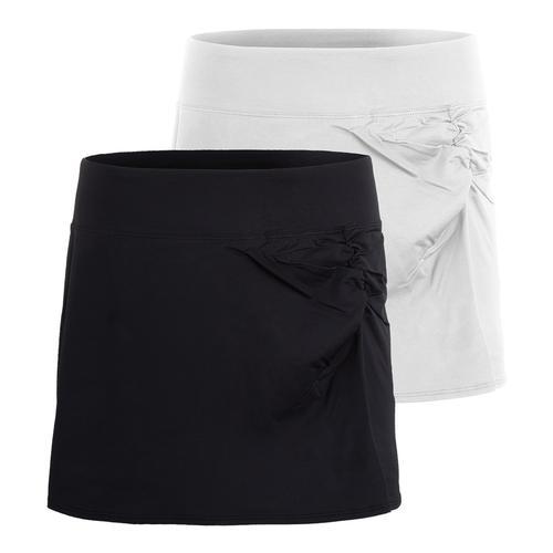 Women's Couture Ruched Tennis Skort