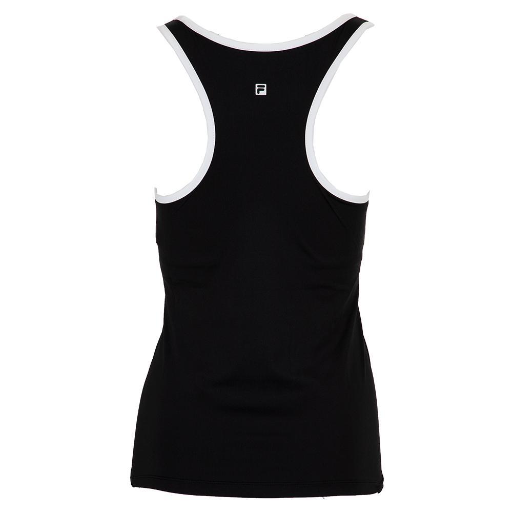 Fila Women's Foundations Racerback Tennis Tank In Black