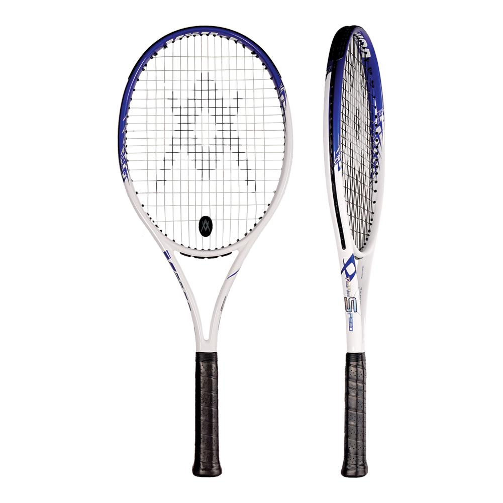Team Speed White Blue Tennis Racquet
