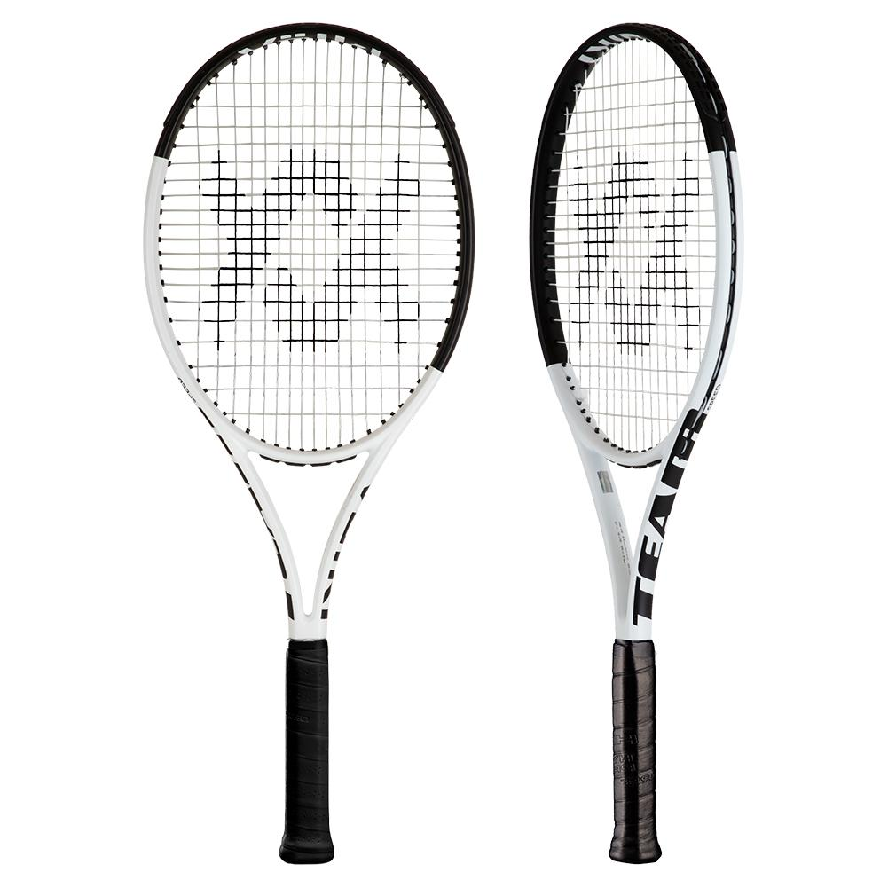 Team Speed White And Black Tennis Racquet