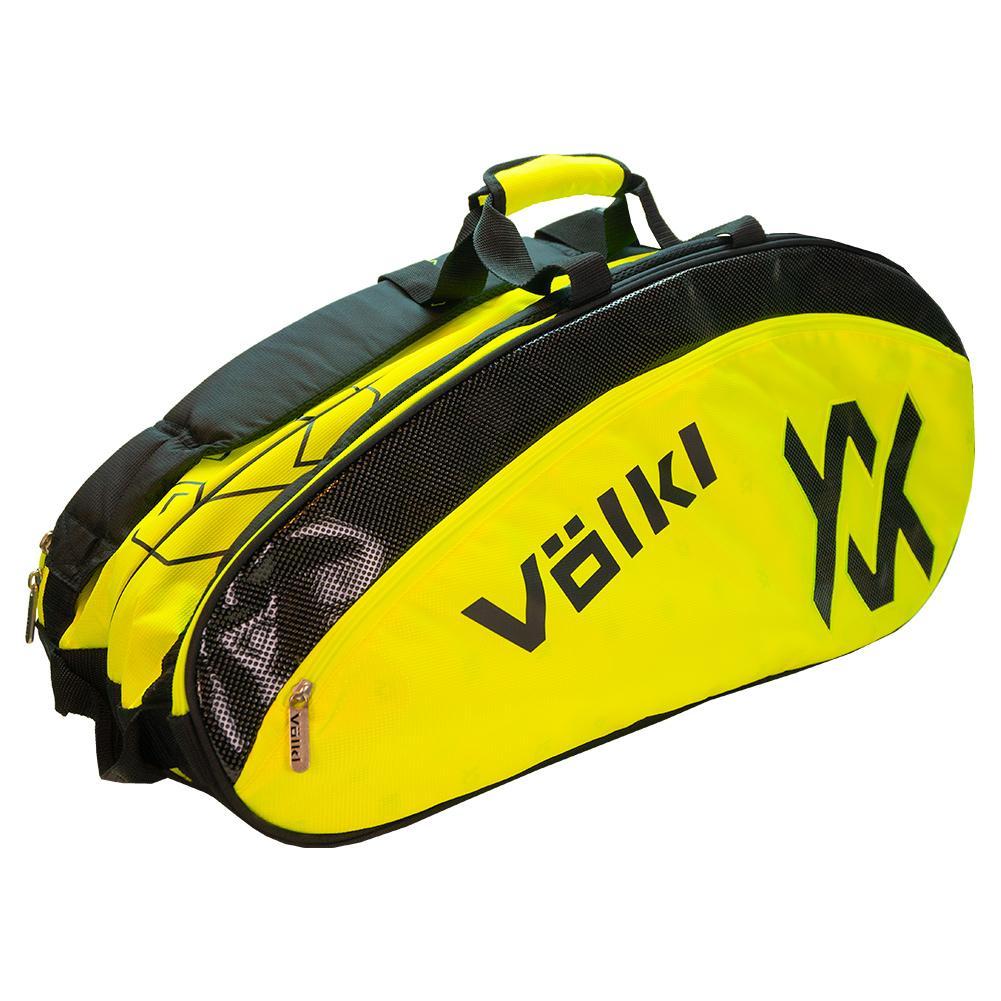 Tour Combi Tennis Bag Neon Yellow And Black