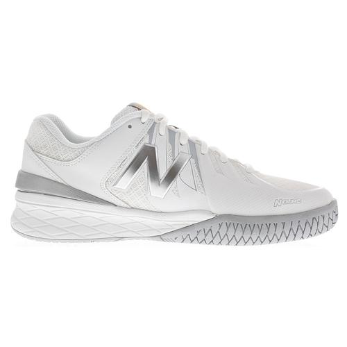 more photos 50f6e 6aed0 Women s 1006 2a Width Tennis Shoes White And Silver. Zoom. Hover to zoom  click to enlarge. 360 View