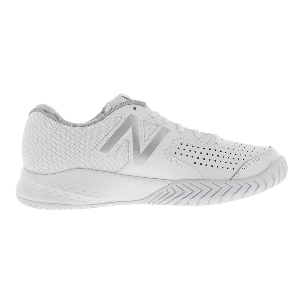 New Balance Women S 696v3 B Width Tennis Shoes In White