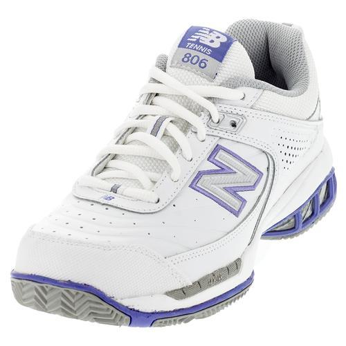 Women's Wc806 B Width Tennis Shoes White
