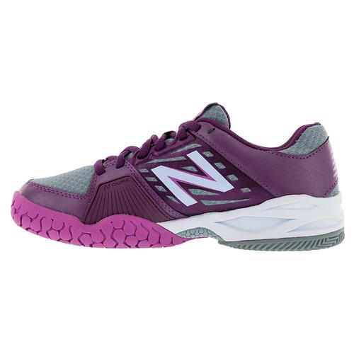 Women's 896v1 B Width Tennis Shoes Imperial And Deep Purple