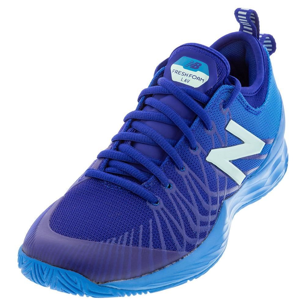 Women's Fresh Foam Lav B Width Tennis Shoes Vision Blue And Bali Blue