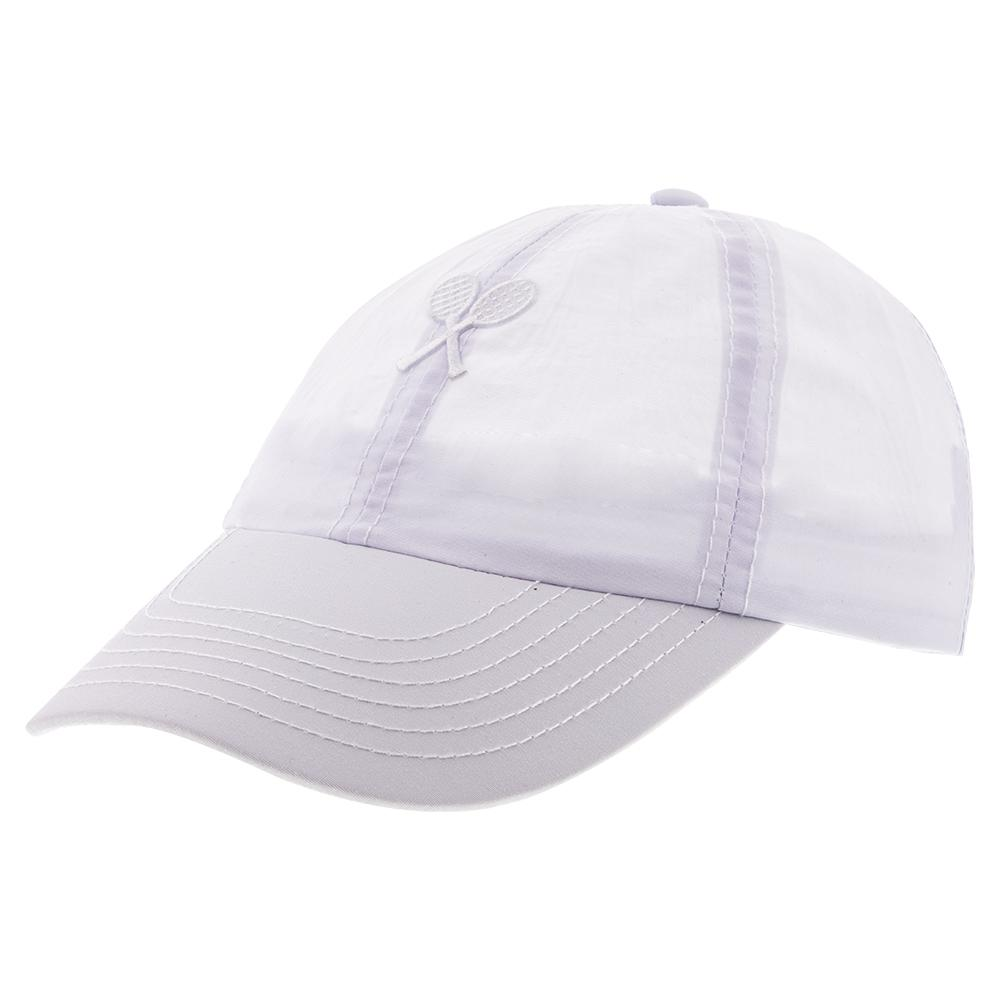Girls ` Tennis Cap White