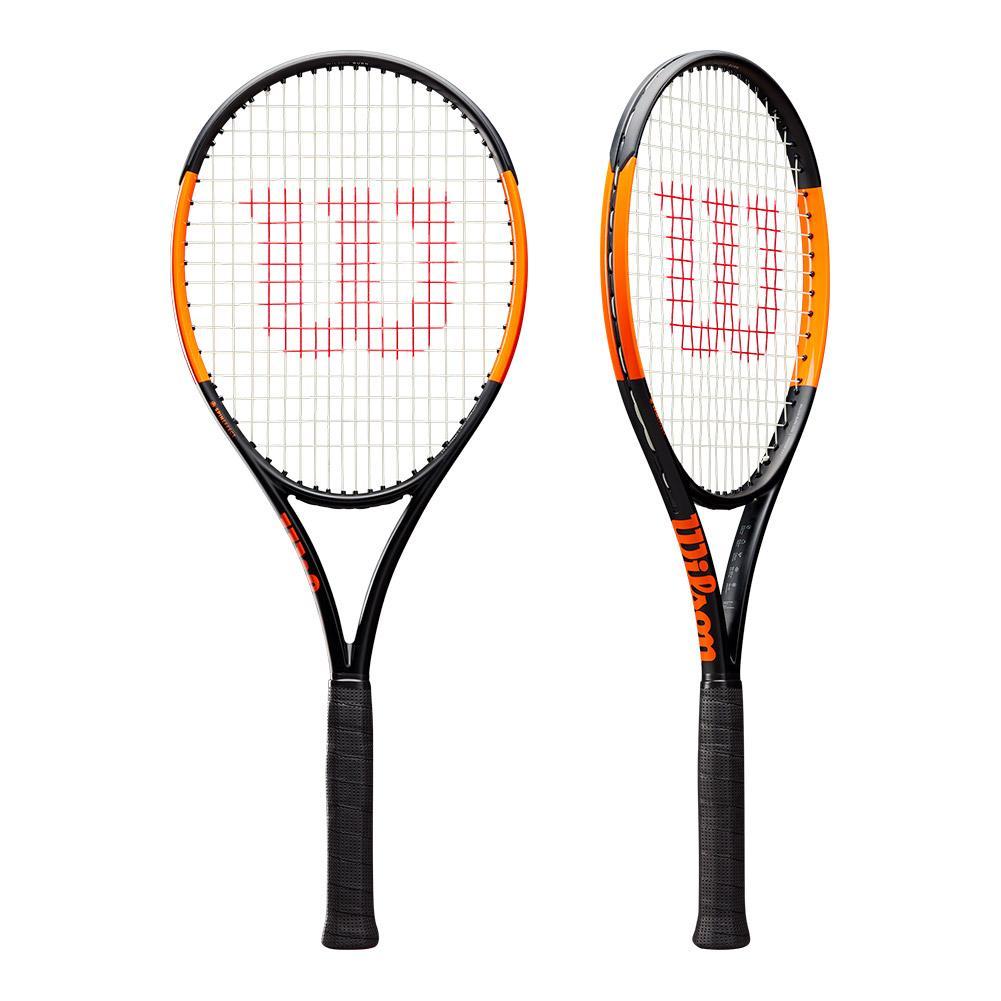 Burn 100ls Pre- Strung Tennis Racquet