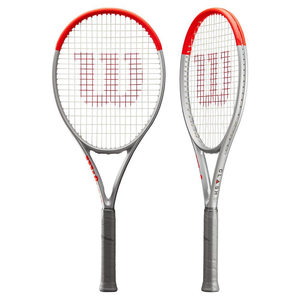 Clash 100 Pro Silver Tennis Racquet