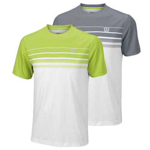 Men's Spring Striped Tennis Crew