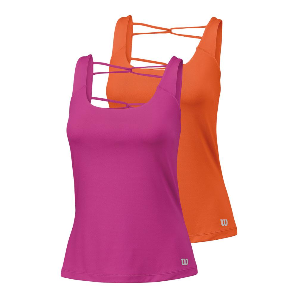 Women's Ladder Back Athletic Tennis Tank