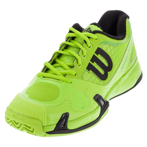 Men's Rush Pro 2.0 Tennis Shoes Granny Green And Black