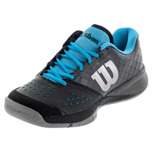 Unisex Glide Comp Tennis Shoes Black And Asphalt