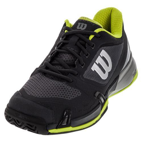 Men's Rush Pro 2.5 Tennis Shoes Ebony And Monument