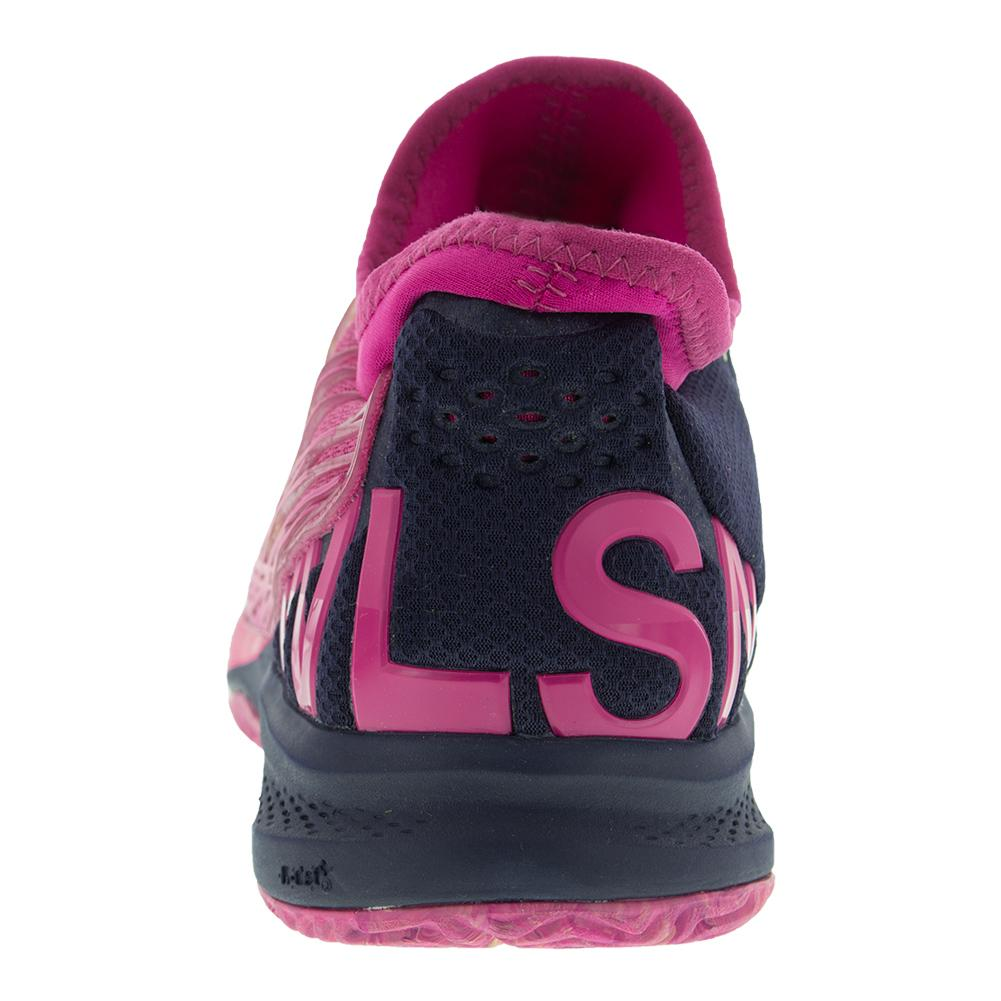 Wilson Women's Kaos 2.0 SFT Tennis Shoes in Very Berry and Evening