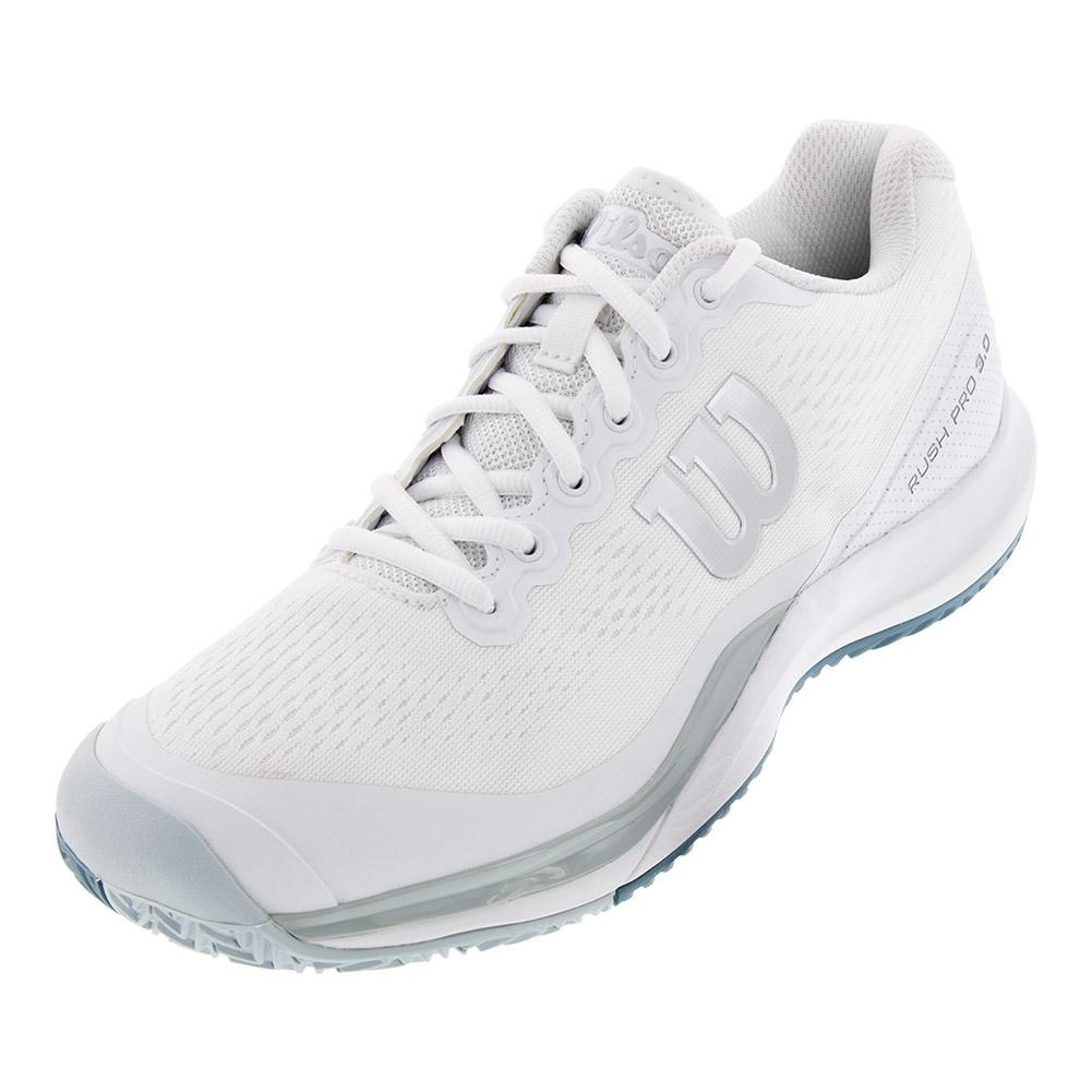 Men's Rush Pro 3.0 Tennis Shoes White And Pearl Blue