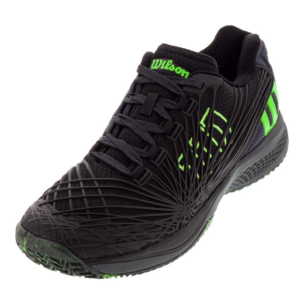 199f920fb855 Men s Kaos 2.0 Tennis Shoes Black And Ebony