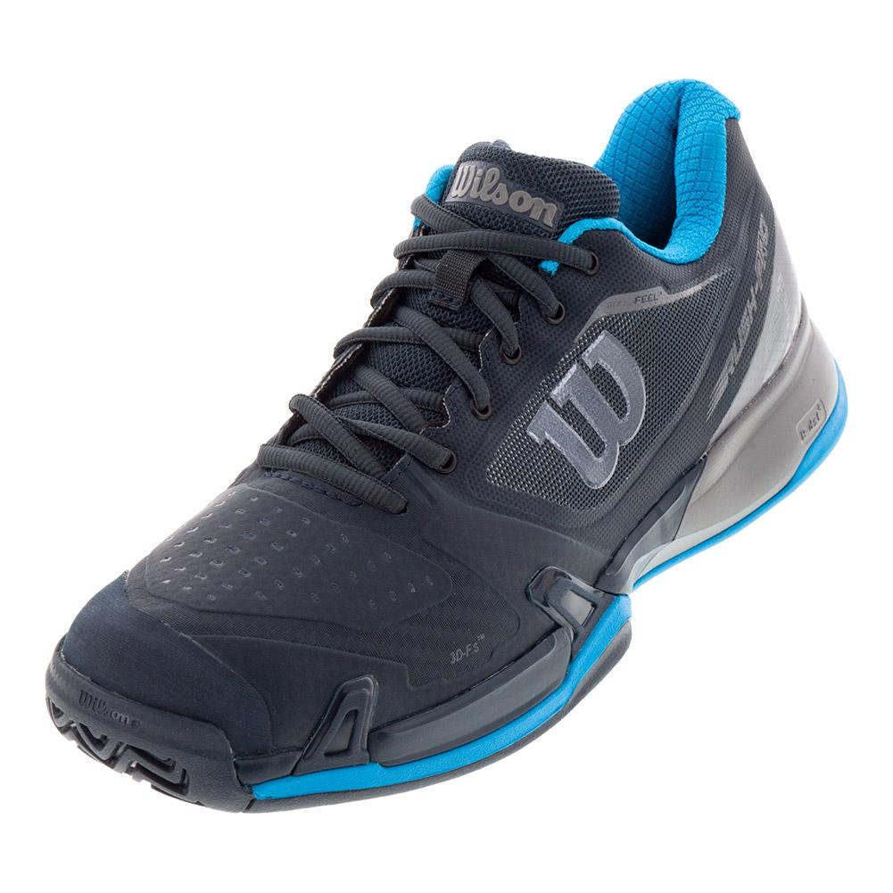 Men's 2019 Rush Pro 2.5 Tennis Shoes Blueberry And Quiet Shade