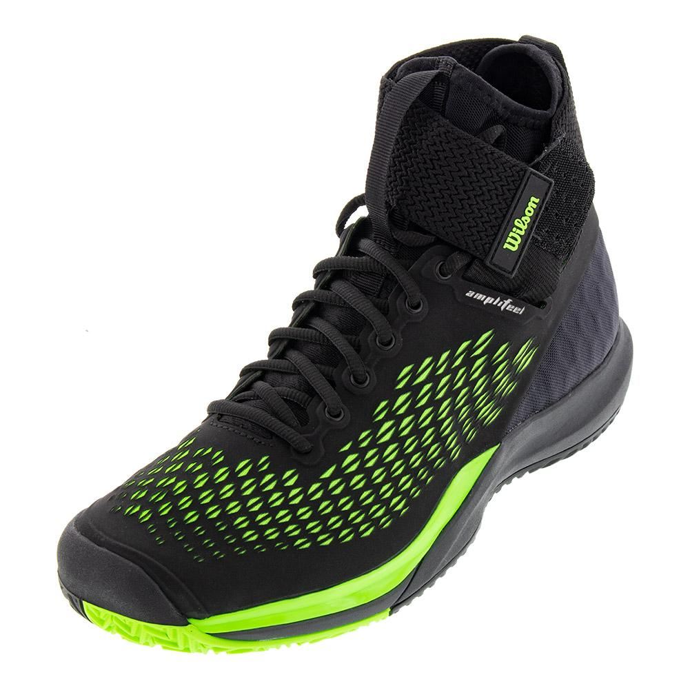 Unisex Amplifeel 2.0 Tennis Shoes Black And Green Gecko