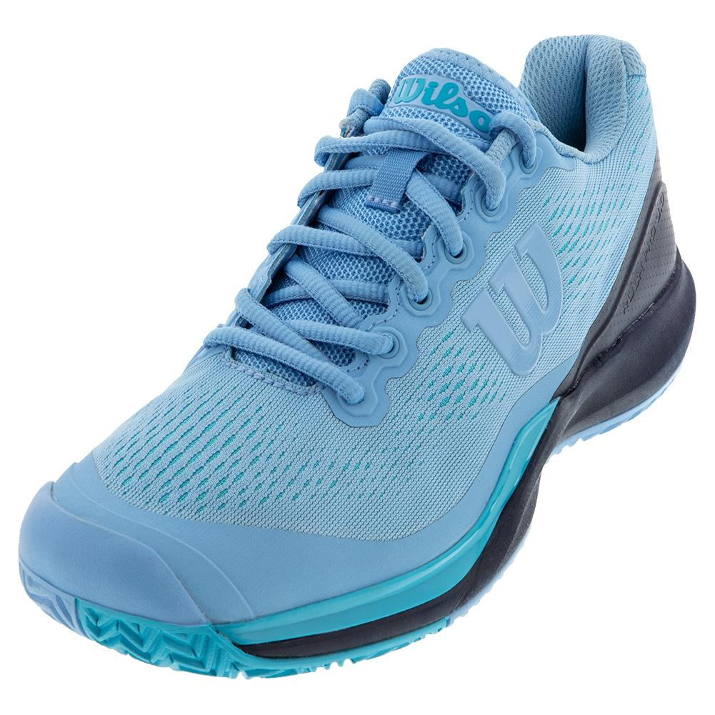 Women's Rush Pro 3.0 Tennis Shoes Alaskan Blue And Peacoat