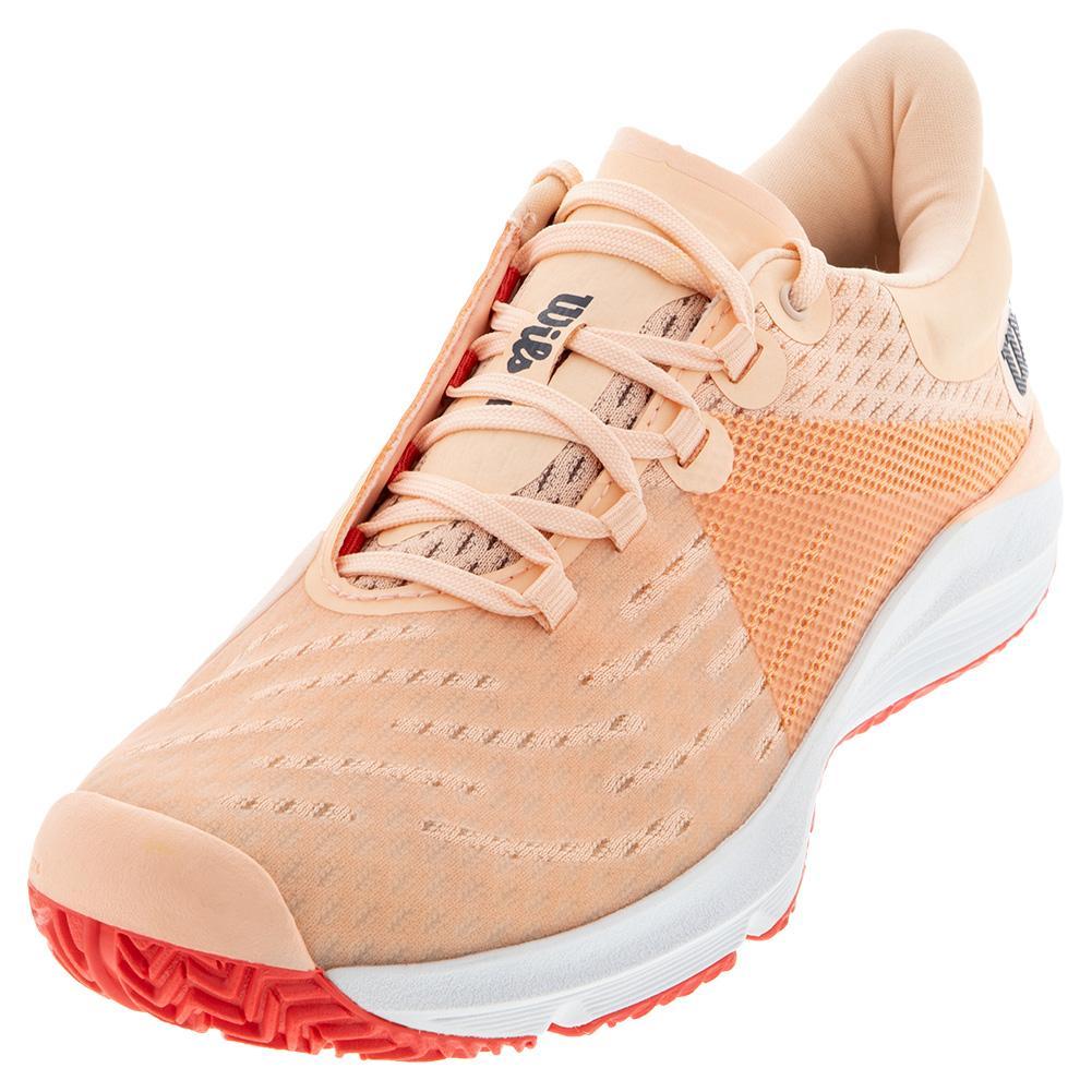 Women's Kaos 3.0 Tennis Shoes Tropical Peach And White