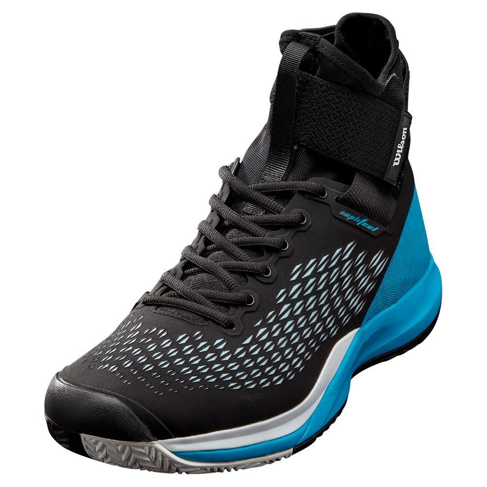 Men's Amplifeel 2.0 Tennis Shoes Black And Barrier Reef