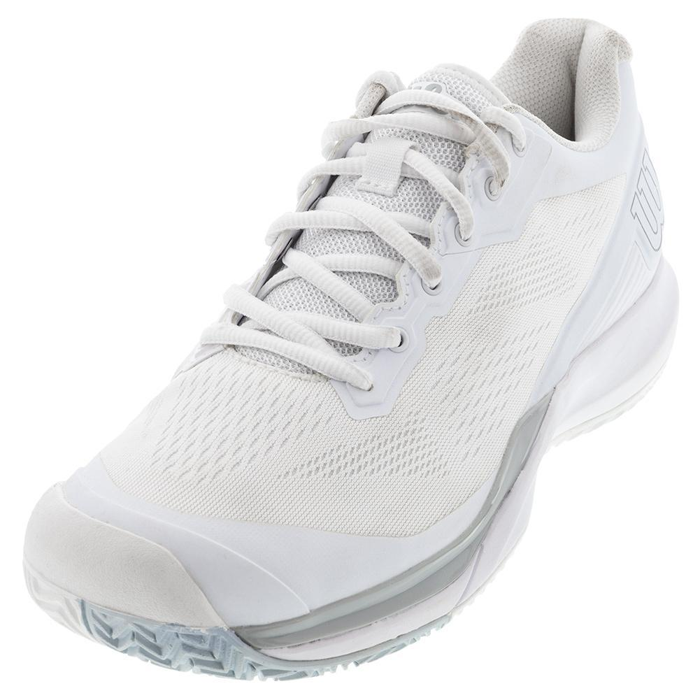 Women's Rush Pro 3.5 Tennis Shoes White And Pearl Blue